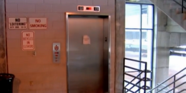 Police respond to eerie reports of ghost riding parking garage elevator solutioingenieria Images