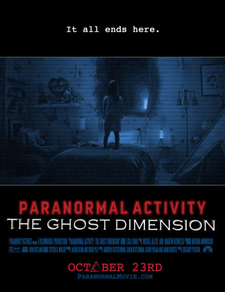 As with the first paranormal activity, this movie is largely suggestive instead of implicit with its watch trailers